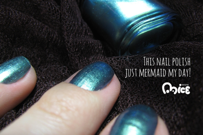 Nail polish just mermaid my day!